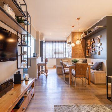 Projeto de Arquitetura residencial #SalaConde
